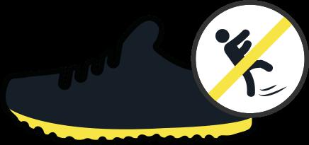 Slip resistant sole