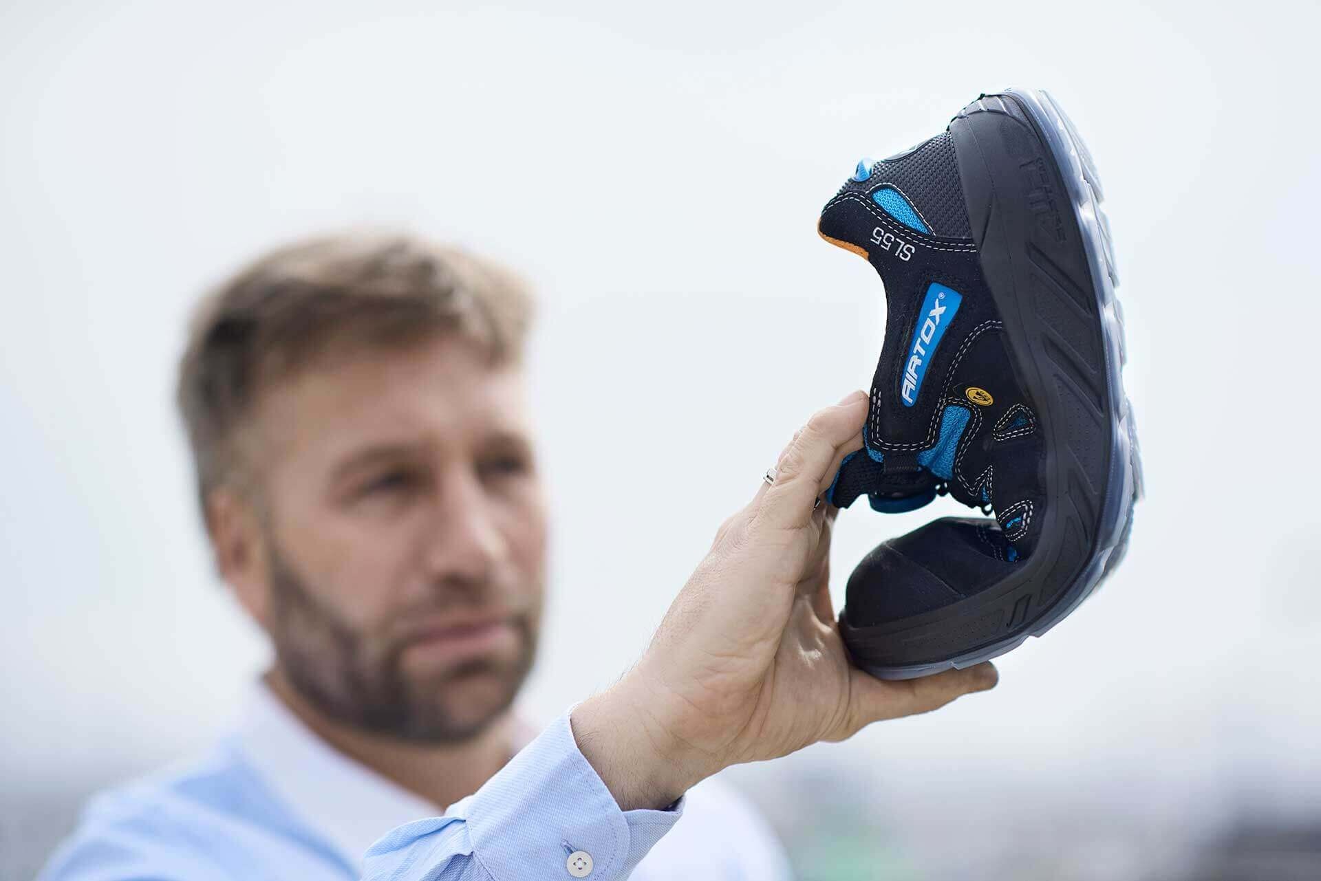 scarpe antinfortunistiche Airtox - design