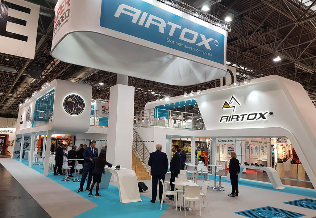 Carrer at AIRTOX safety shoes