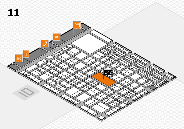 AIRTOX stand floor plan